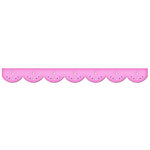 Spellbinders - Borderabilities Collection - Die Cutting and Embossing Templates - Grand 12 Inch Big Scalloped Border