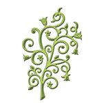 Spellbinders - D-Lites Die - Fantastic Flourish 4