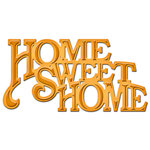 Spellbinders - Shapeabilities Collection - D-Lites Die - Home Sweet Home