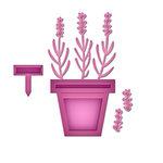 Spellbinders - Shapeabilities Collection - D-Lites Die - Lavender