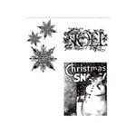 Stampers Anonymous - Tim Holtz - Christmas - Cling Mounted Rubber Stamp Set - Winter Wonder