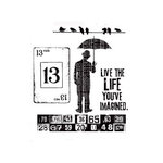 Stampers Anonymous - Tim Holtz - Cling Mounted Rubber Stamp Set - Creative Muse