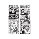 Stampers Anonymous - Tim Holtz - Christmas - Cling Mounted Rubber Stamp Set - Holiday Collections