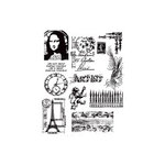 Stampers Anonymous - Tim Holtz - Cling Mounted Rubber Stamp Set - Mini Classics