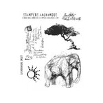 Stampers Anonymous - Tim Holtz - Cling Mounted Rubber Stamp Set - Life Adventure