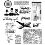 Stampers Anonymous - Tim Holtz - Cling Mounted Rubber Stamp Set - Warehouse Direct