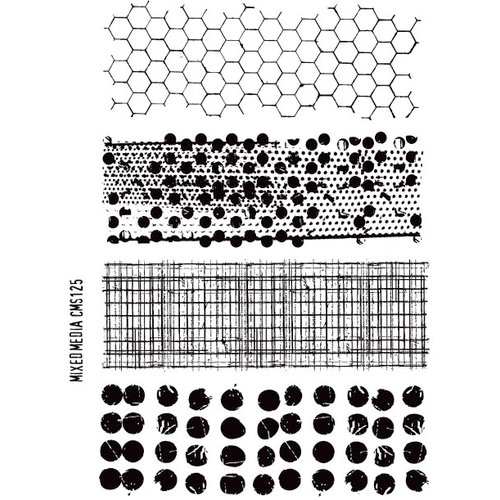 Stampers Anonymous - Tim Holtz - Cling Mounted Rubber Stamp Set - Mixed Media