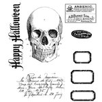 Stampers Anonymous - Tim Holtz - Cling Mounted Rubber Stamp Set - Apothecary