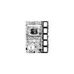 Stampers Anonymous - Tim Holtz - ATC - Cling Mounted Rubber Stamps - Photograph