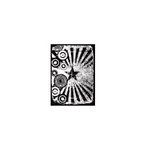 Stampers Anonymous - Tim Holtz - ATC - Cling Mounted Rubber Stamps - Retro Carnival