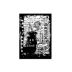Stampers Anonymous - Tim Holtz - ATC - Cling Mounted Rubber Stamps - Paris Film