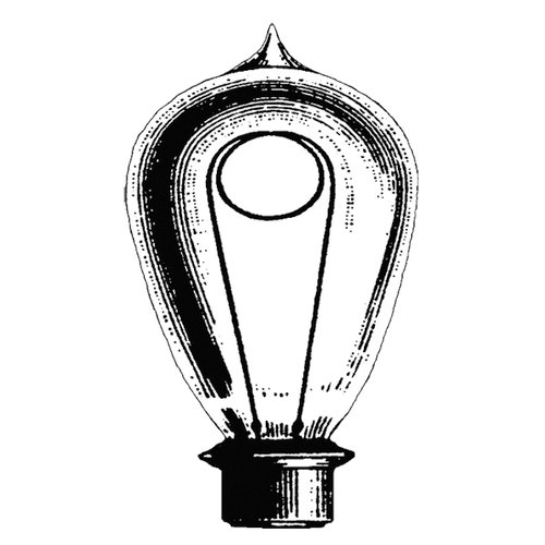 Stamper's Anonymous - Donna Salazar - Cling Mounted Rubber Stamp Set - Lightbulb