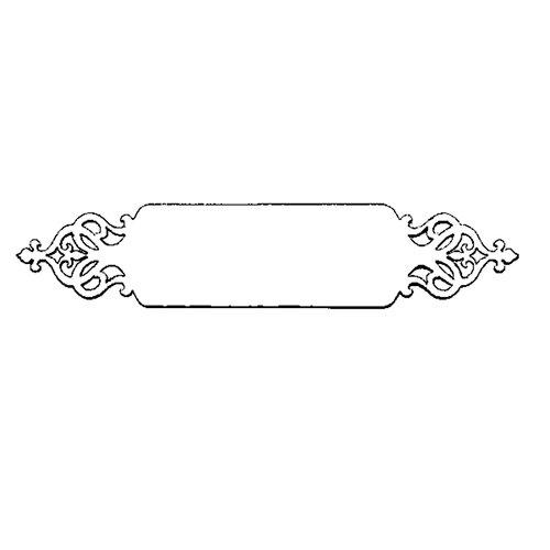 Stampers Anonymous - Donna Salazar - Cling Mounted Rubber Stamp Set - Tag