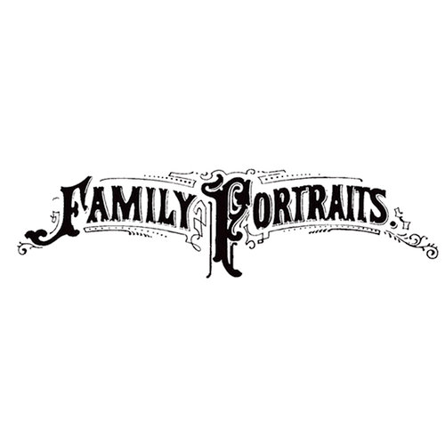 Stampers Anonymous - Donna Salazar - Cling Mounted Rubber Stamp Set - Family Portraits