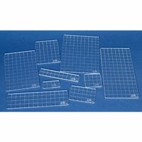 Stampers Anonymous - Tim Holtz - Acrylic Gridblocks Set - 9 Pieces