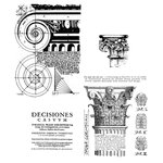 Stampers Anonymous - Tim Holtz - Cling Mounted Rubber Stamp Set - Classics 2