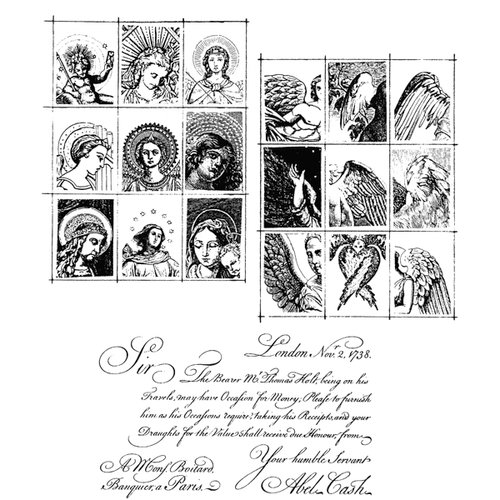 Stampers Anonymous - Tim Holtz - Cling Mounted Rubber Stamp Set - Classics 9
