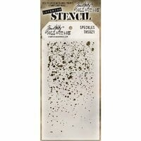 Stampers Anonymous - Tim Holtz - Layering Stencil - Speckles