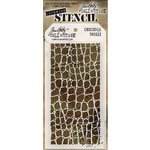 Stampers Anonymous - Tim Holtz - Layering Stencil - Crocodile
