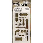 Stampers Anonymous - Tim Holtz - Layering Stencil - Arrows