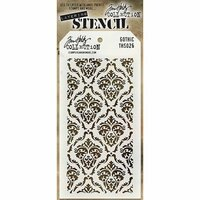 Stampers Anonymous - Tim Holtz - Layering Stencil - Gothic