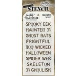 Stampers Anonymous - Tim Holtz - Layering Stencil - Halloween