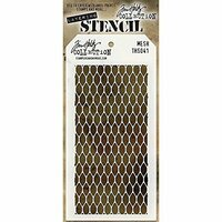 Stampers Anonymous - Tim Holtz - Layering Stencil - Mesh