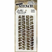 Stampers Anonymous - Tim Holtz - Layering Stencil - Treads