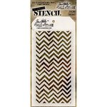 Stampers Anonymous - Tim Holtz - Layering Stencil - Zigzag