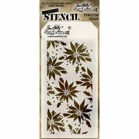 Stampers Anonymous - Tim Holtz - Layering Stencil - Poinsettia