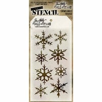 Stampers Anonymous - Tim Holtz - Layering Stencil - Snowflakes