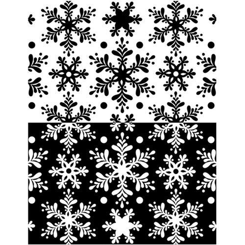 Ranger Ink - Melt Art - Texture Treads - Snow Flurries