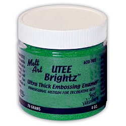Ranger Ink - Suze Weinberg - UTEE Brightz - Ultra Thick Embossing Enamel - Spruce Green