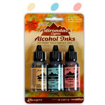 Ranger Ink - Tim Holtz - Adirondack Alcohol Inks - 3 Pack - Lakeshore