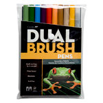 Tombow - Dual Brush Pen - 10 Color Set - Secondary