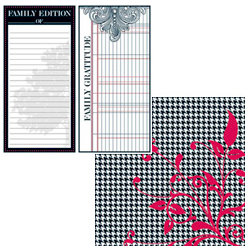 Teresa Collins - Family Matters Collection -  12 x 12 Double Sided Paper - Family Edition, CLEARANCE