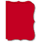 Bind It All - Teresa Collins - 2 Bracket Shape Covers - Red, CLEARANCE