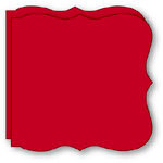 Bind It All - Teresa Collins - 2 Large Bracket Covers - Red