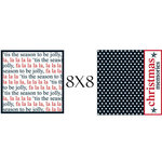 Teresa Collins - Tis the Season Christmas Collection - 8 x 8 Double Sided Paper - Tis the Season