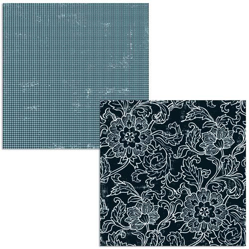 Teresa Collins - Friendship Collection - 12 x 12 Double Sided Paper - Taylor's Flowers