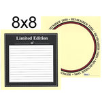 Teresa Collins - Journal It Collection - 8 x 8 Double Sided Paper - Remember This