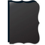 Teresa Collins - Bind It All - 2 Bracket Shape Covers - Black