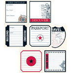 Teresa Collins - Travelogue - 12x12 Double Sided Paper - Trip Details