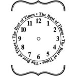 Teresa Collins - Cling Mounted Rubber Stamps - The Best of Times, CLEARANCE