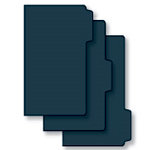 Bind It All - Teresa Collins - 3 Piece 7 x 13 Tab File Covers - Black