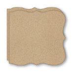Bind It All - Teresa Collins - 2 Large Bracket Shape Covers - Craft