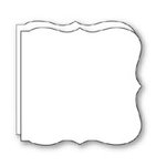Bind It All - Teresa Collins - 2 Large Bracket Shape Covers - White