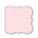 Bind It All - Teresa Collins - 2 Large Bracket Shape Covers - Pink