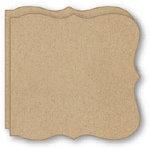 Bind It All - Teresa Collins - 2 Large Bracket Covers - Clip-Board Wood