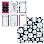 Teresa Collins - Documented Collection -  12 x 12 Double Sided Paper - life TAGS